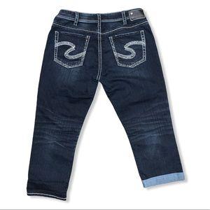 Silver Jeans Suki High Capri